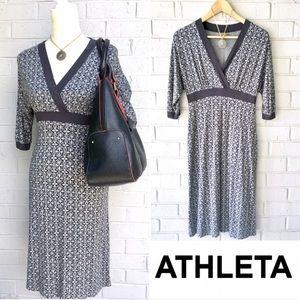 Athleta Grey Kimono Dress S/M